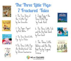 The Best Fractured Fairy Tales: The Three Little Pigs #weareteachers