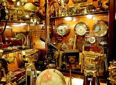 Nautical instrument shop