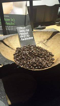 Coffee beans, so delicious! #Starbucks #TMOtrenddag