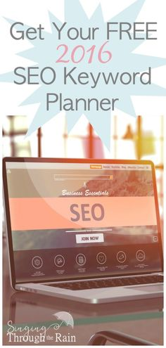For those who are looking to use SEO to help grow their site and to rank high on Google, I offer a free SEO Keyword Planner.