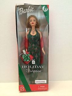 (GBS015582) - Mattel Holiday Surprise Special Edition Barbie
