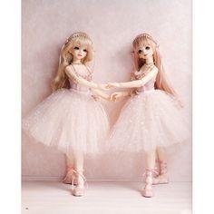 bjd+pic | BJD MSD Ballerina Leotard and Long Tutu Skirt by AliceInCraftyland