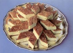Sfouf - LEBANESE RECIPES Sfouf is a sweet almond cake from Lebanon. This sfouf recipe is easy and delicious authentic Lebanese dessert dish. Ramadan Recipes, Sweets Recipes, Baby Food Recipes, Gourmet Recipes, Cooking Recipes, Food Baby, Lebanese Desserts, Lebanese Recipes, Kitchens