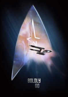 Another Star Trek Teaser poster I created for the launch of the 2009 Re-booted Star Trek Movie.