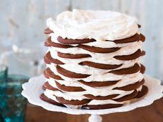 Gingerbread Icebox Cake with Mascarpone Mousse
