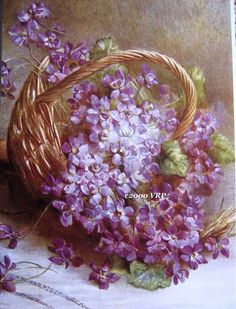 Print FREE SHIP Victorian Violets and by VictorianRosePrints, $11.99