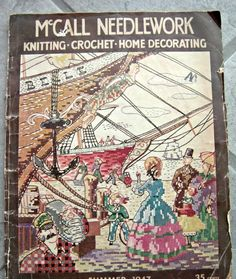 McCall Needlework Magazine Summer 1947 by GoodBuyGrace on Etsy, $6.00    http://www.etsy.com/listing/120385451/mccall-needlework-magazine-summer-1947?