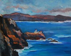 Tuolumne County, Washington Street, Amazing Paintings, Small Towns, Bold Colors, Marines, Cool Words, Lighthouse, Kendall