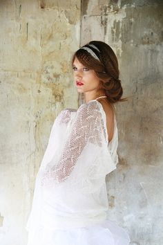 Wedding Linen Scarf  Bridal Lace Shawl  White Sheer Stole Wedding Knitted Wrap  White Linen Thin Lace Fog Scarf