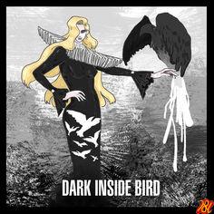 #QueenBird #Art #Illust #FAshion #Dark