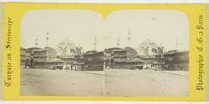 Charles Gerard | Ste. Sophie vue prise de la place de l'Aet Meitan [onz], Constantinople, Charles Gerard, 1860 - 1880 |