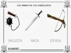 Escuela infantil castillo de Blanca: FICHAS PREESCOLAR: EL CASTILLO Castillo Feudal, Hair Accessories, Album, Blog, Weapons, Knight, Classroom, Google, Knowledge