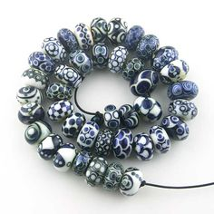 Heather Trimlett's 40-Bead Challenge Thread Gallery - Lampwork Etc.