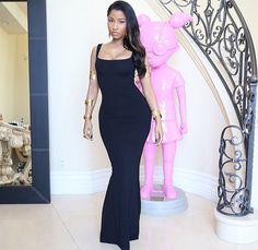 78ff18835abe2 Nicki Minaj Is Best Dressed At The MTV Movie Awards