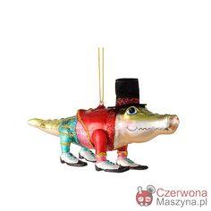 Bombka Gift Company Mr Alligator - CzerwonaMaszyna.pl