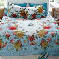 ver detalhes de Capa de Edredom (Duvet) Solteiro King 400 Fios Flowers Bouquet - Pip Studio