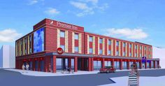 The former Honey Club site on West Parade will be transformed into a hotel and Brewers Fayre restaurant Brewers Fayre, Premier Inn, Multi Story Building, Honey, Construction, Restaurant, Club, Bedroom, Building