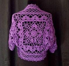 Bolero / shrug purple