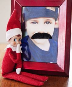 Looking for elf on the shelf ideas? Check out 30 days of elf antics!