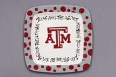 Aggie Square plate