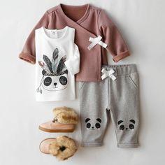 Conjunto com 3 peças, casaco, camisola e calças estilo fato de treino R Baby | La Redoute
