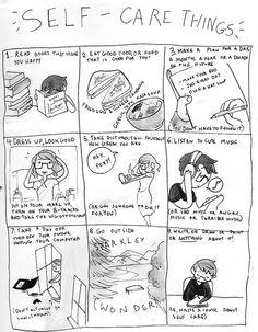 Self care things