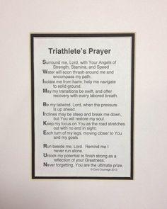 Triathlete's prayer #triathlon #motivation http://www.thetrihub.com