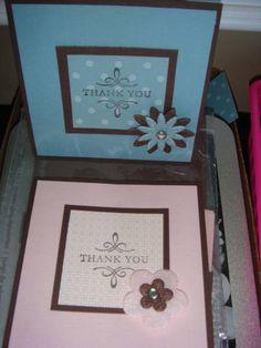 Splitcoaststampers FOOGallery - Elegant Thank You Card