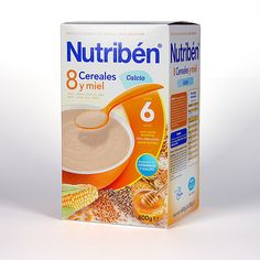 191866 Nutriben 8 Cereales con Miel y Calcio - 600 gr.