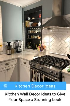 Having trouble decorating a kitchen? Here's the best kitchen wall decor ideas that will make your kitchen design stand out. Kitchen Renovation Cost, Kitchen Remodel Cost, Kitchen Layout, Kitchen Design, Kitchen Decor, Kitchen Ideas, Home Decor Trends, Home Decor Styles, Decor Ideas