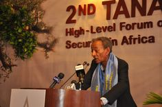 Professor Andreas Eshete opens the edition of Tana High Level Forum on Security in Africa. High Level, Professor, Africa, Afro