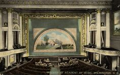 A hand-tinted postcard of Thalian Hall dating to 1909!