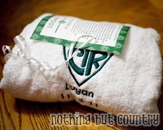 I love the idea of a CTR Baptism Towel.  The poem makes it even more special.