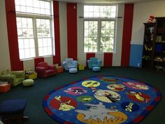 Our preschool room