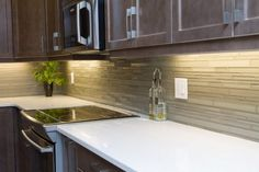 Vital kitchen had a U-shaped design that cut off half the room. After our home renovation, the kitchen doubled in size and usable space Kitchen Renovations, Home Renovation, Kitchen Cabinets, Construction, Design, Home Decor, Building, Decoration Home, Room Decor