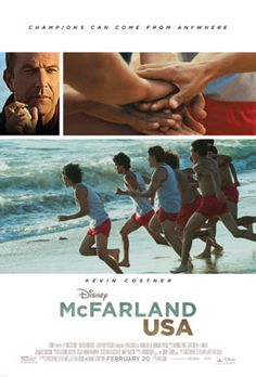 "Based on the 1987 true story, ""McFarland, USA"" follows novice runners from McFarland, an economically challenged town in California, as they give their all to build a cross-country team under the direction of Coach Jim White (Kevin Costner), a newcomer to their predominantly Latino high school, with whom they ultimately bond to build not only a championship cross-country team but an enduring legacy as well."