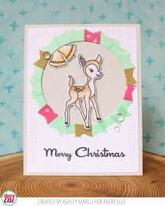 *NEW* - Avery Elle - Kitsch Christmas Clear Stamps, Avery Elle: Dies to Die For
