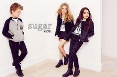 Louis, Nicole y Bianca de Sugar Kids para Lefties