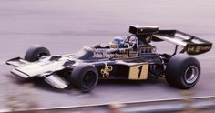 Ronnie Peterson (SWE) (John Player Team Lotus), Lotus 72E - Ford-Cosworth DFV 3.0 V8 (finished 3rd).  1974 Canadian Grand Prix, Mosport Park