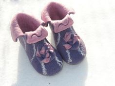 Felted slippers for you by ulga on Etsy, $65.00
