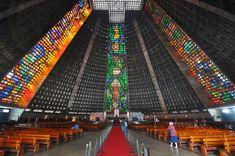 Rio de janeiro cathedral sao sebastiao 2010 - Cathédrale Saint-Sébastien de Rio de Janeiro — Wikipédia
