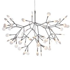 Moooi Heracleum Endless Suspension Lamp - Style # HeracleumEndless, Suspension Lamps - Chandeliers - Pendant Lighting | SwitchModern.com