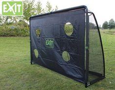 Train de precisie van jouw schot met deze EXIT Finta voetbalgoal met precisienet! #voordetuin #voetbalgoal #fun. Prijs: € 239