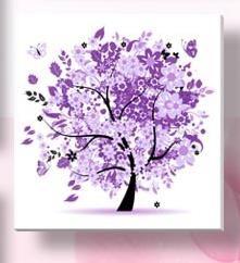 df7ee6b8e0 US $2.87 36% OFF|^% 7 colors flower tree pattern 4 seasons DIY 5D Diamond  Painting mosaic round crystal Cross Stitch Diamond Embroidery Kits -in  Diamond ...