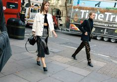 The Best Street Style From London Fashion Week Spring '18