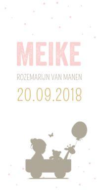 #Geboortekaartje #silhouet #meisje #birthannouncement
