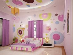 Creative Ways to Paint Your Room - http://votejet.com/creative-ways-to-paint-your-room/ : #HouseIdeas The classic ways to paint your room is white on the roof or ceiling, and walls of a different tone, but not the only one. You can use differently the paint colors out of the ordinary, and even to create visual effects that make view a larger or deeper room. Roof color with white, usually use to...