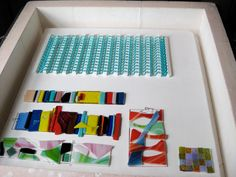 Calyx Glass Blog: Fused Glass at the LUX - Session 1