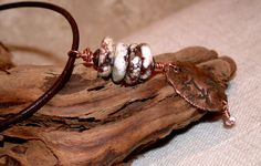 Freedom  Rustic Wildhorse and Natural Copper Long by LindaGeez