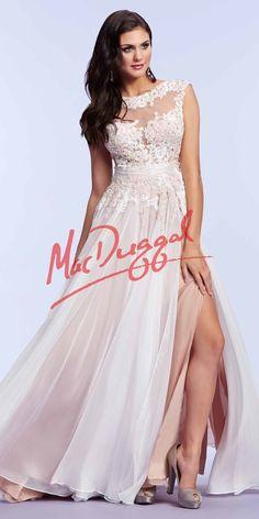 Mac Duggal Floor Length Dress